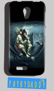 Reliance Lyf Flame 6 Mobile Covers Cases Shiva Smoking - Lowest Price - Paybydaddy.com