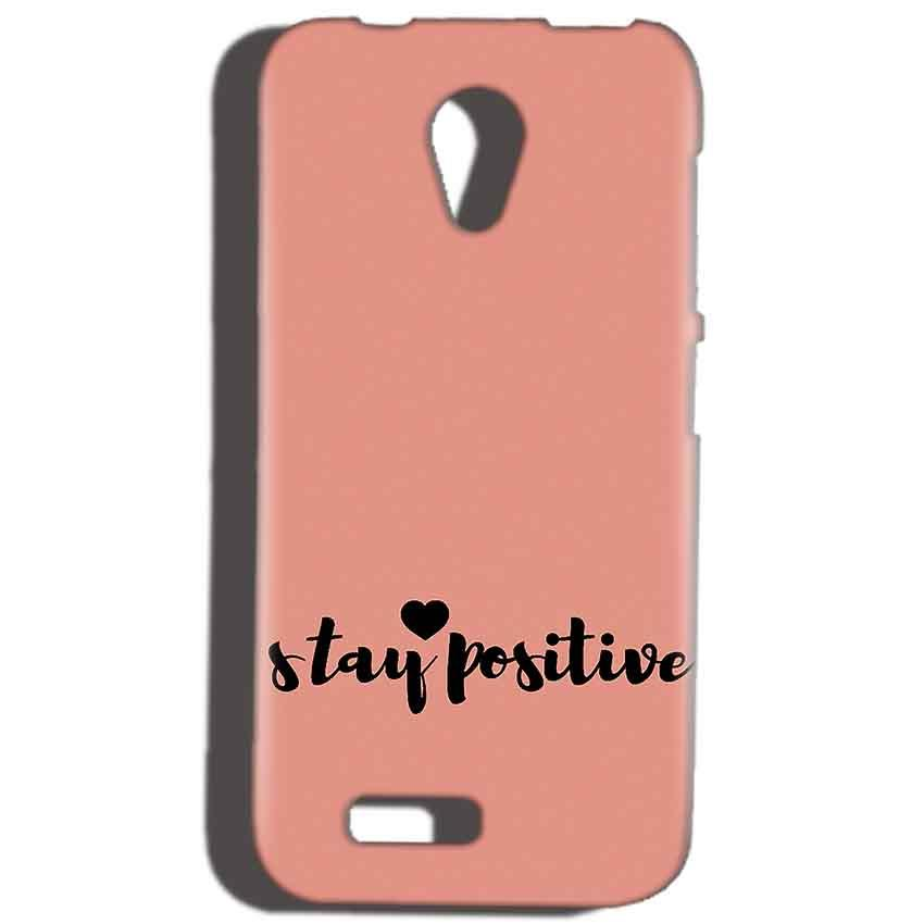 Reliance Lyf Flame 6 Mobile Covers Cases Stay Positive - Lowest Price - Paybydaddy.com