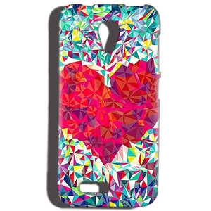 Reliance Lyf Flame 6 Mobile Covers Cases heart Prisma design - Lowest Price - Paybydaddy.com