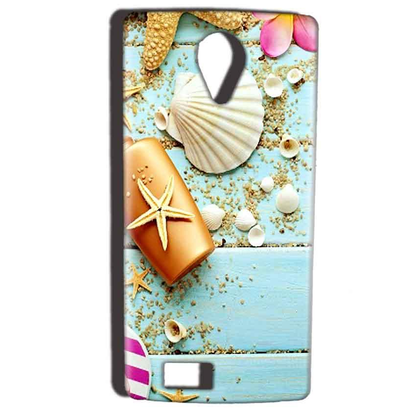 Reliance Lyf Flame 7 Mobile Covers Cases Pearl Star Fish - Lowest Price - Paybydaddy.com