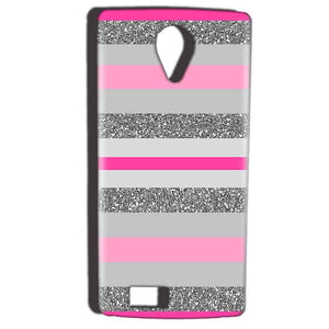 Reliance Lyf Flame 7 Mobile Covers Cases Pink colour pattern - Lowest Price - Paybydaddy.com