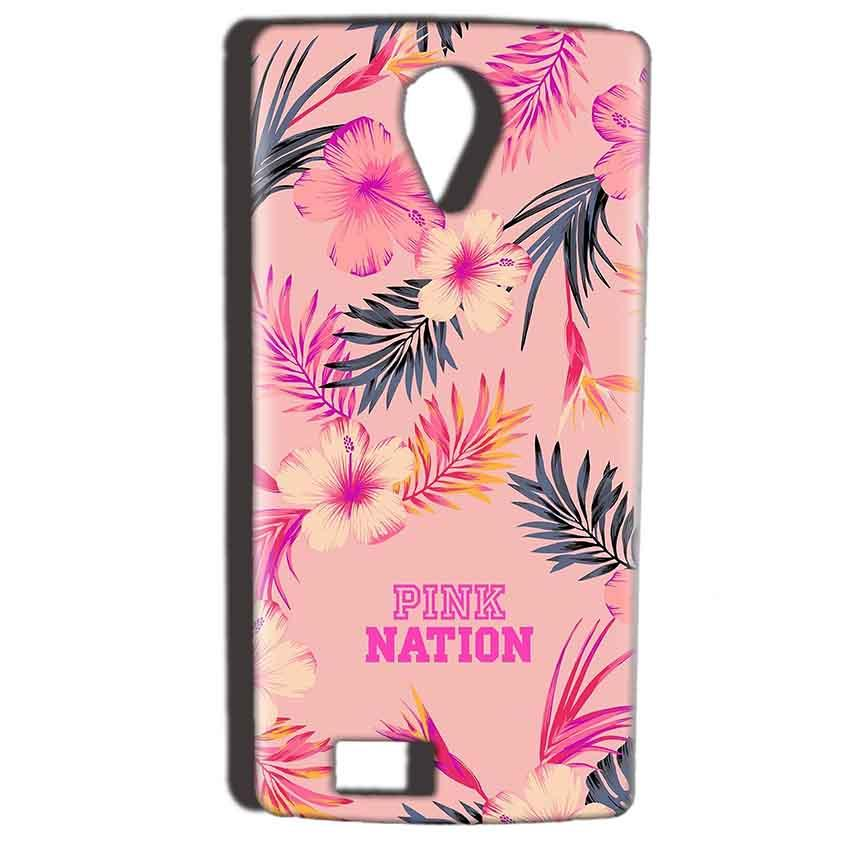 Reliance Lyf Flame 7 Mobile Covers Cases Pink nation - Lowest Price - Paybydaddy.com