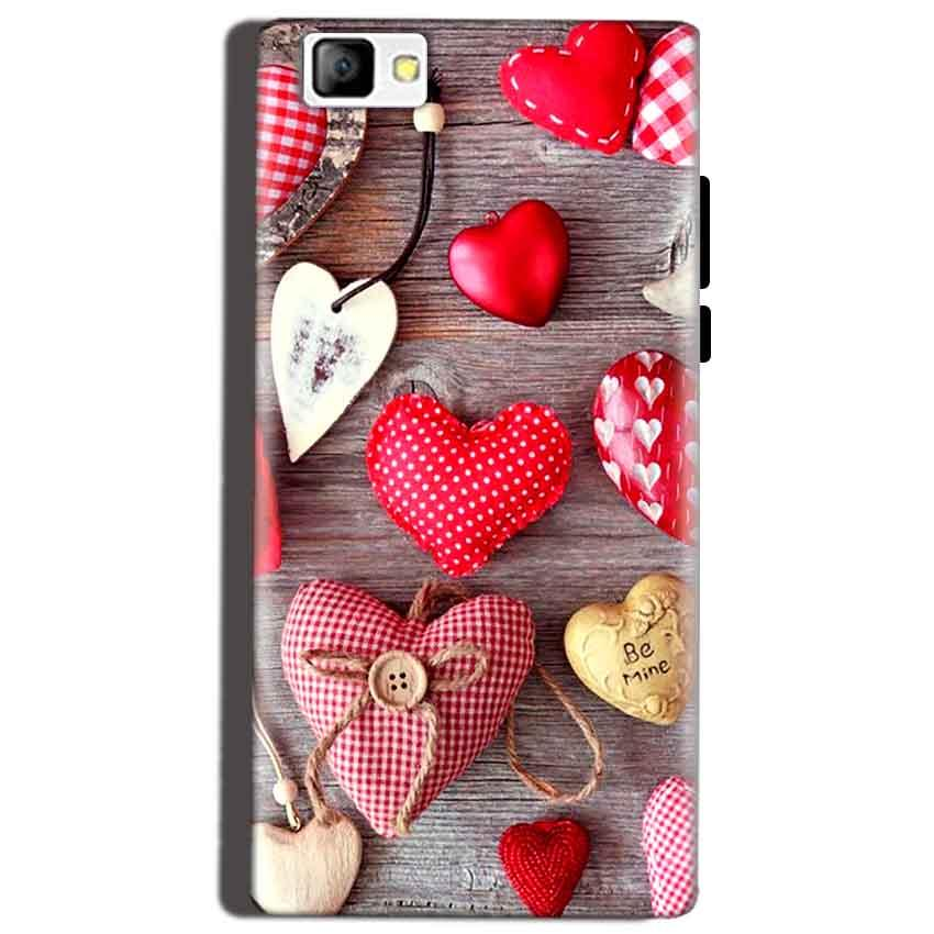 Reliance Lyf Flame 8 Mobile Covers Cases Hearts- Lowest Price - Paybydaddy.com