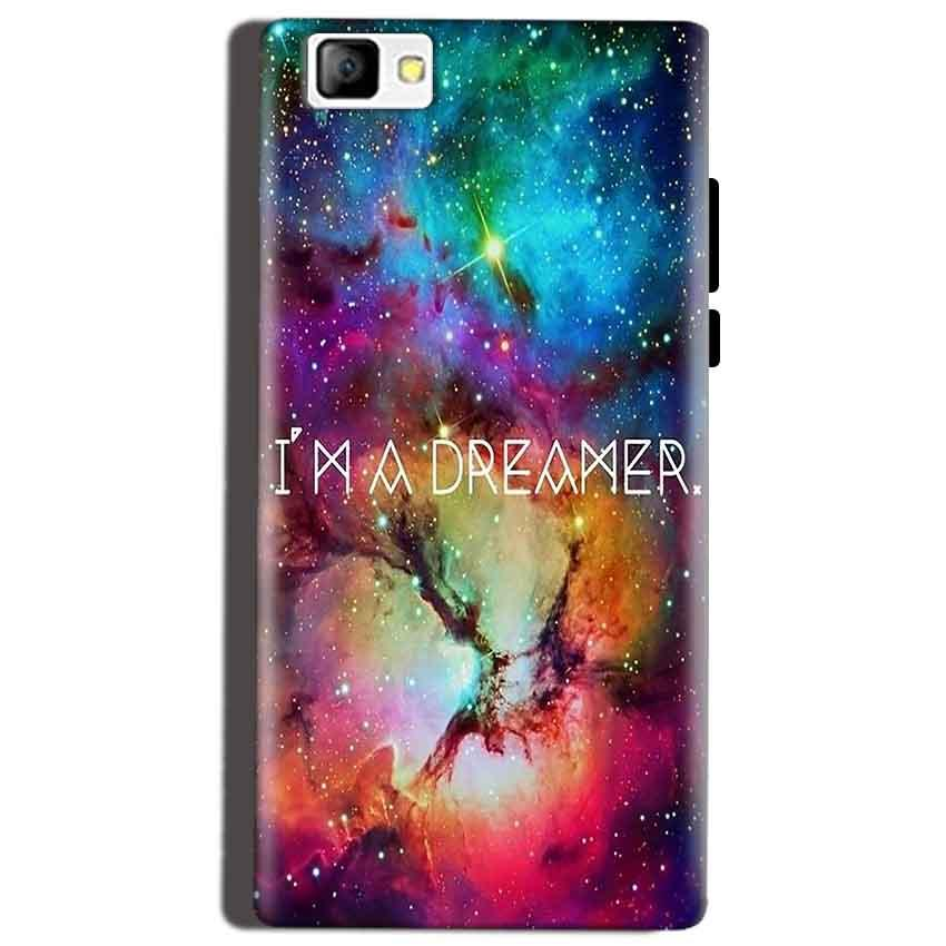 Reliance Lyf Flame 8 Mobile Covers Cases I am Dreamer - Lowest Price - Paybydaddy.com