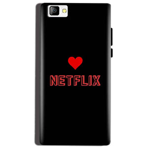 Reliance Lyf Flame 8 Mobile Covers Cases NETFLIX WITH HEART - Lowest Price - Paybydaddy.com