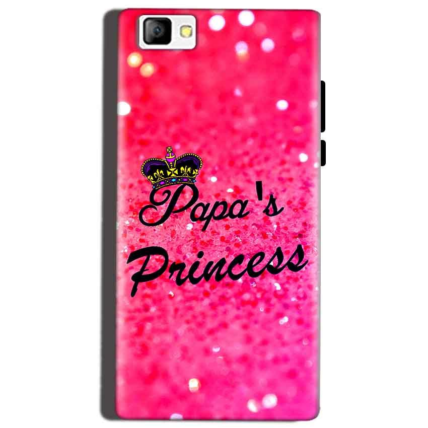 Reliance Lyf Flame 8 Mobile Covers Cases PAPA PRINCESS - Lowest Price - Paybydaddy.com