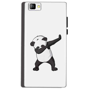 Reliance Lyf Flame 8 Mobile Covers Cases Panda Dab - Lowest Price - Paybydaddy.com