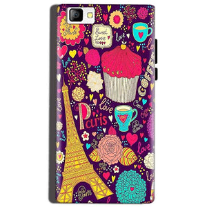 Reliance Lyf Flame 8 Mobile Covers Cases Paris Sweet love - Lowest Price - Paybydaddy.com