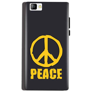 Reliance Lyf Flame 8 Mobile Covers Cases Peace Blue Yellow - Lowest Price - Paybydaddy.com