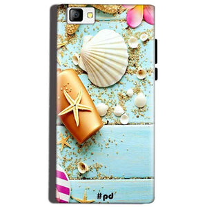 Reliance Lyf Flame 8 Mobile Covers Cases Pearl Star Fish - Lowest Price - Paybydaddy.com