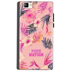 Reliance Lyf Flame 8 Mobile Covers Cases Pink nation - Lowest Price - Paybydaddy.com