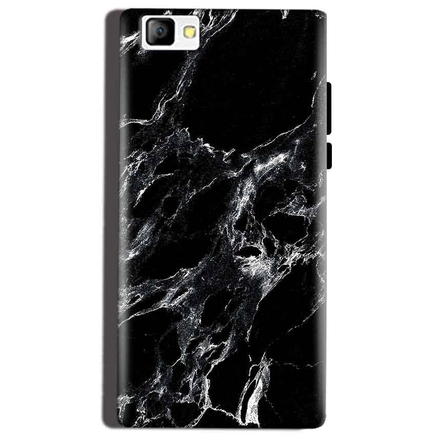 Reliance Lyf Flame 8 Mobile Covers Cases Pure Black Marble Texture - Lowest Price - Paybydaddy.com