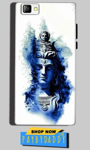 Reliance Lyf Flame 8 Mobile Covers Cases Shiva Blue White - Lowest Price - Paybydaddy.com
