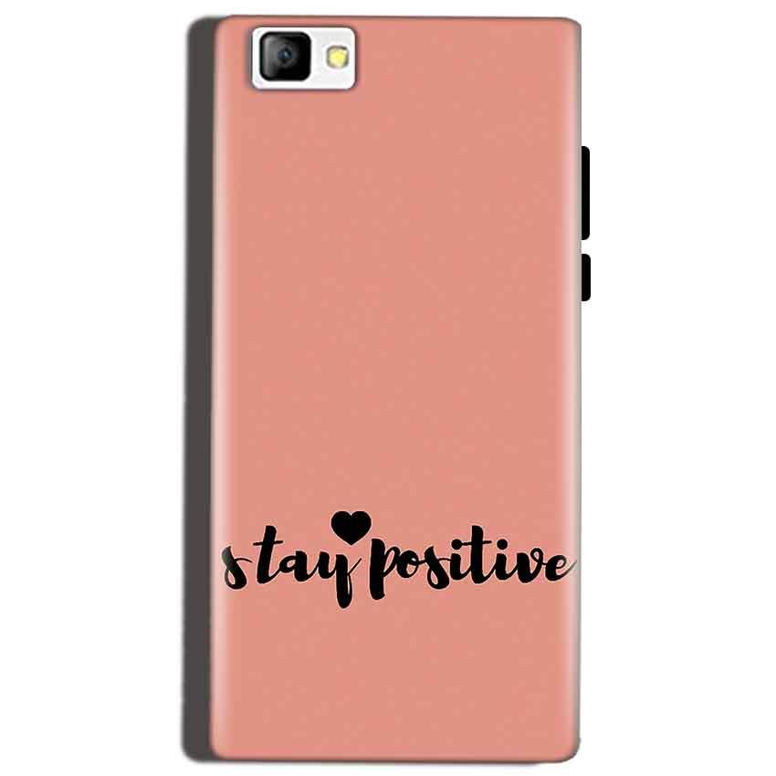 Reliance Lyf Flame 8 Mobile Covers Cases Stay Positive - Lowest Price - Paybydaddy.com
