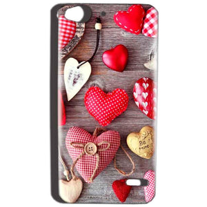Reliance Lyf Water 2 Mobile Covers Cases Hearts- Lowest Price - Paybydaddy.com