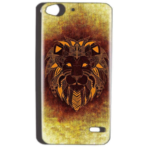 Reliance Lyf Water 2 Mobile Covers Cases Lion face art - Lowest Price - Paybydaddy.com