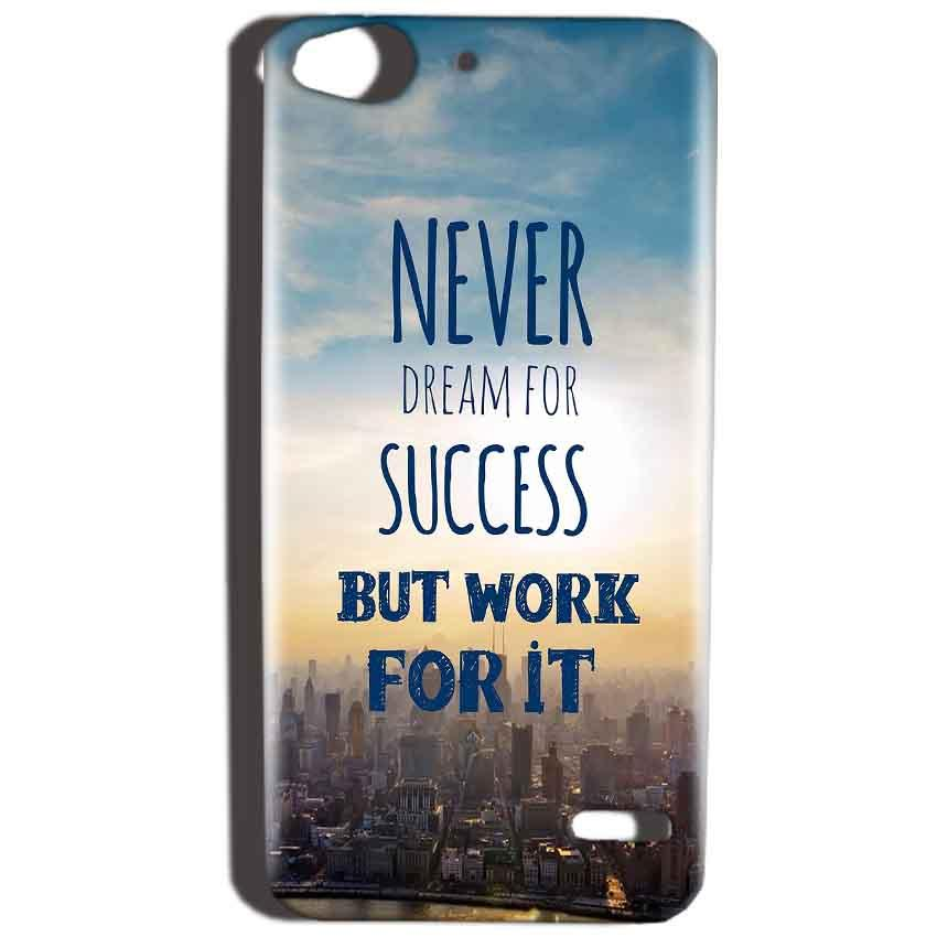 Reliance Lyf Water 2 Mobile Covers Cases Never Dreams For Success But Work For It Quote - Lowest Price - Paybydaddy.com