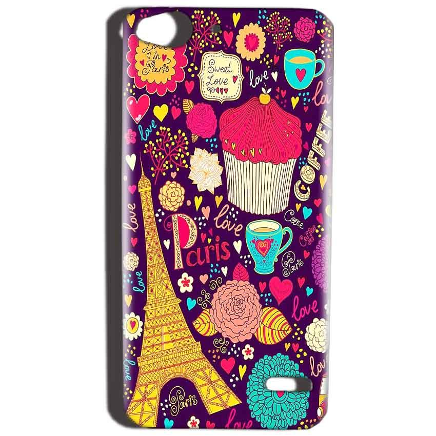 Reliance Lyf Water 2 Mobile Covers Cases Paris Sweet love - Lowest Price - Paybydaddy.com