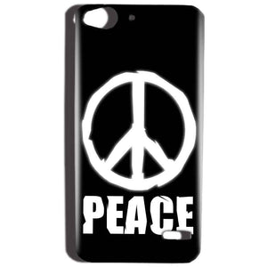 Reliance Lyf Water 2 Mobile Covers Cases Peace Sign In White - Lowest Price - Paybydaddy.com