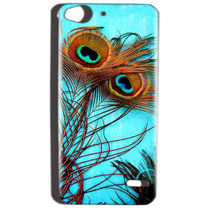 Reliance Lyf Water 2 Mobile Covers Cases Peacock blue wings - Lowest Price - Paybydaddy.com
