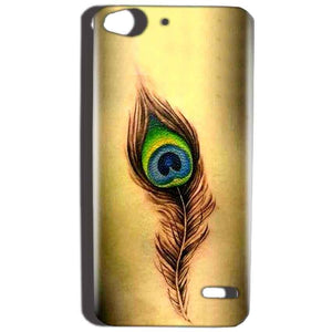Reliance Lyf Water 2 Mobile Covers Cases Peacock coloured art - Lowest Price - Paybydaddy.com