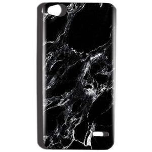 Reliance Lyf Water 2 Mobile Covers Cases Pure Black Marble Texture - Lowest Price - Paybydaddy.com