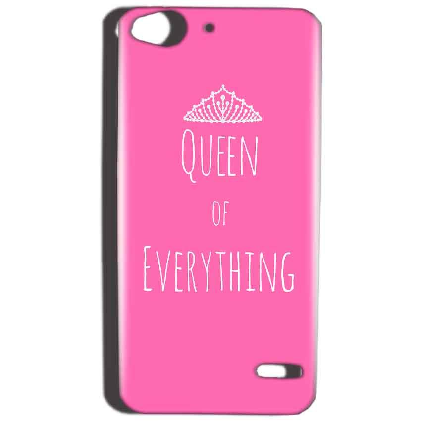 Reliance Lyf Water 2 Mobile Covers Cases Queen Of Everything Pink White - Lowest Price - Paybydaddy.com