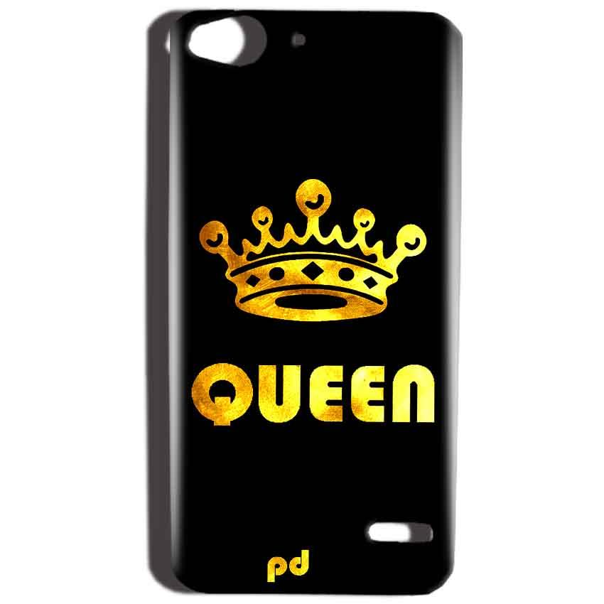 Reliance Lyf Water 2 Mobile Covers Cases Queen With Crown in gold - Lowest Price - Paybydaddy.com