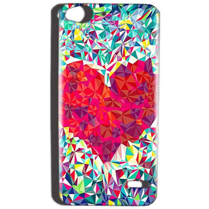 Reliance Lyf Water 2 Mobile Covers Cases heart Prisma design - Lowest Price - Paybydaddy.com