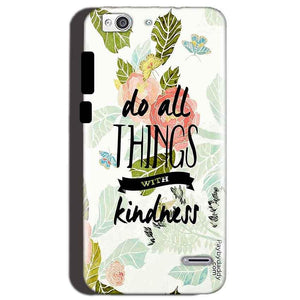 Reliance Lyf Water 3 Mobile Covers Cases Do all things with kindness - Lowest Price - Paybydaddy.com
