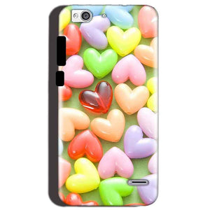 Reliance Lyf Water 3 Mobile Covers Cases Heart in Candy - Lowest Price - Paybydaddy.com
