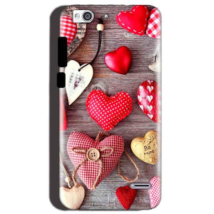 Reliance Lyf Water 3 Mobile Covers Cases Hearts- Lowest Price - Paybydaddy.com