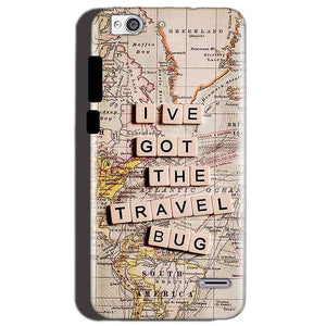 Reliance Lyf Water 3 Mobile Covers Cases Live Travel Bug - Lowest Price - Paybydaddy.com