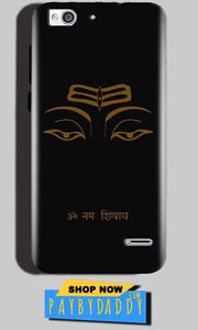 Reliance Lyf Water 3 Mobile Covers Cases Om Namaha Gold Black - Lowest Price - Paybydaddy.com