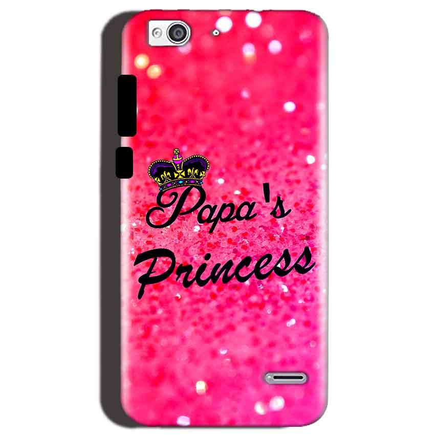 Reliance Lyf Water 3 Mobile Covers Cases PAPA PRINCESS - Lowest Price - Paybydaddy.com