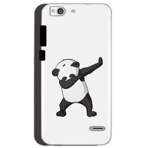 Reliance Lyf Water 3 Mobile Covers Cases Panda Dab - Lowest Price - Paybydaddy.com