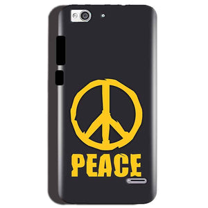 Reliance Lyf Water 3 Mobile Covers Cases Peace Blue Yellow - Lowest Price - Paybydaddy.com