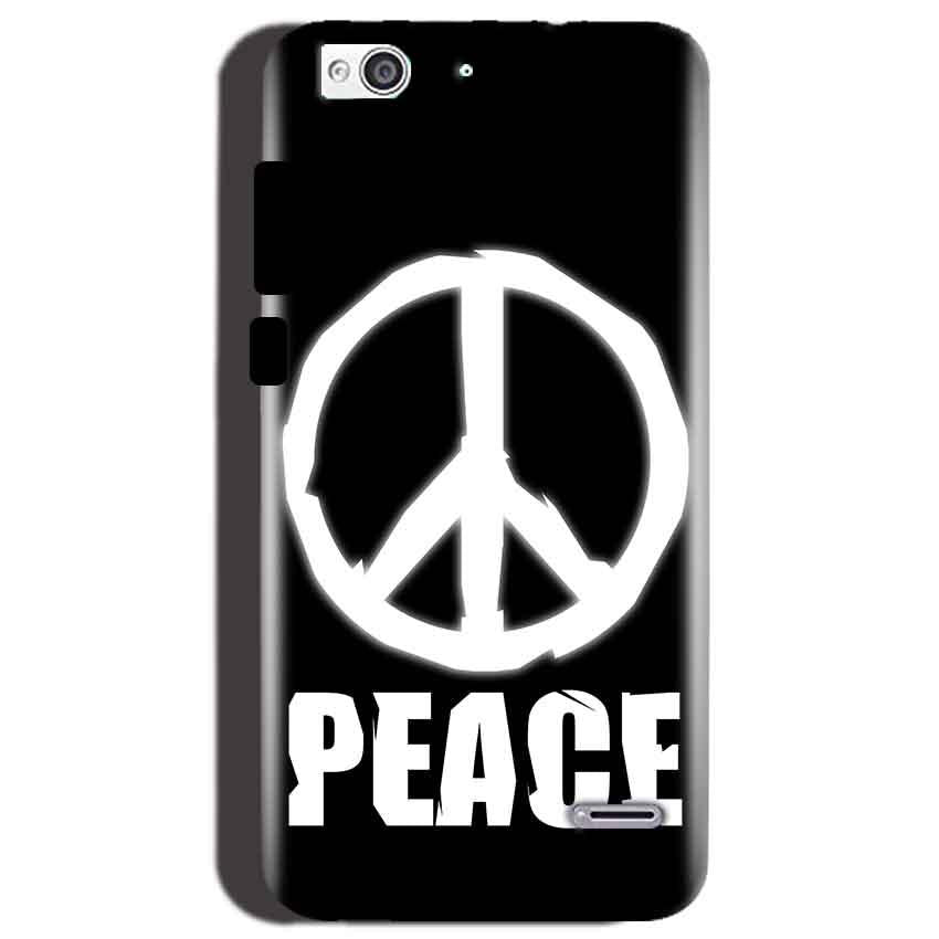 Reliance Lyf Water 3 Mobile Covers Cases Peace Sign In White - Lowest Price - Paybydaddy.com