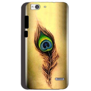 Reliance Lyf Water 3 Mobile Covers Cases Peacock coloured art - Lowest Price - Paybydaddy.com