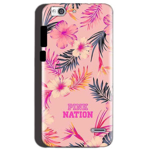 Reliance Lyf Water 3 Mobile Covers Cases Pink nation - Lowest Price - Paybydaddy.com