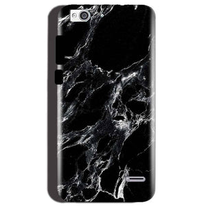 Reliance Lyf Water 3 Mobile Covers Cases Pure Black Marble Texture - Lowest Price - Paybydaddy.com