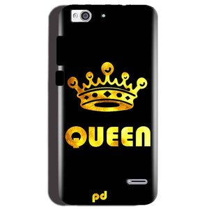 Reliance Lyf Water 3 Mobile Covers Cases Queen With Crown in gold - Lowest Price - Paybydaddy.com