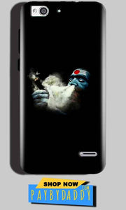 Reliance Lyf Water 3 Mobile Covers Cases Shiva Aghori Smoking - Lowest Price - Paybydaddy.com