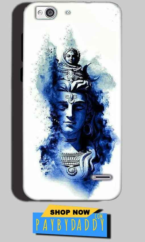 Reliance Lyf Water 3 Mobile Covers Cases Shiva Blue White - Lowest Price - Paybydaddy.com
