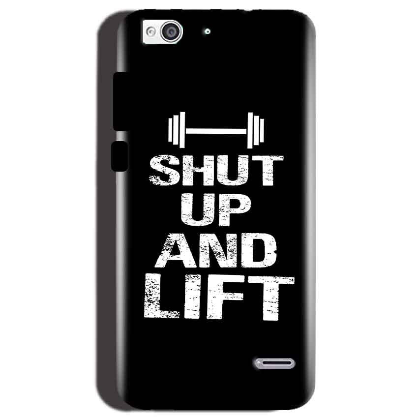 Reliance Lyf Water 3 Mobile Covers Cases Shut Up And Lift - Lowest Price - Paybydaddy.com