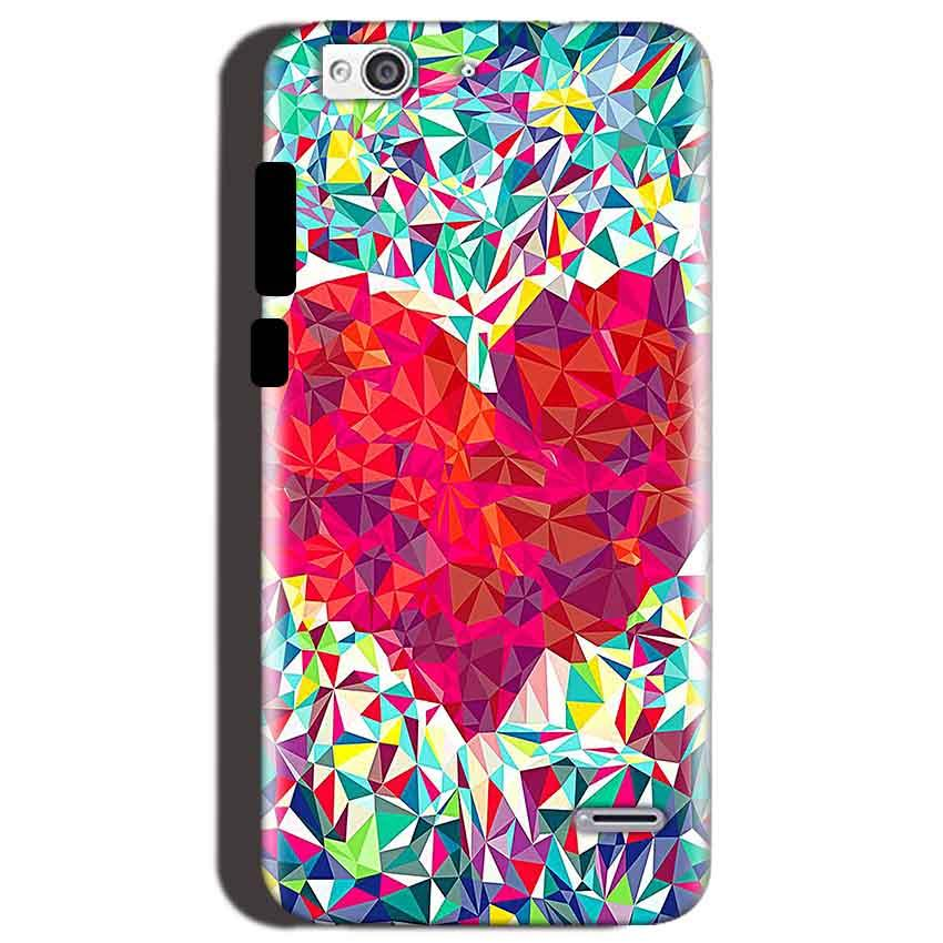 Reliance Lyf Water 3 Mobile Covers Cases heart Prisma design - Lowest Price - Paybydaddy.com