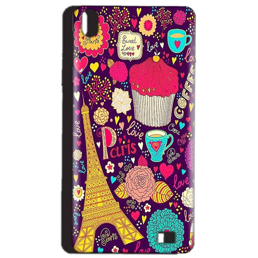Reliance Lyf Water 4 Mobile Covers Cases Paris Sweet love - Lowest Price - Paybydaddy.com