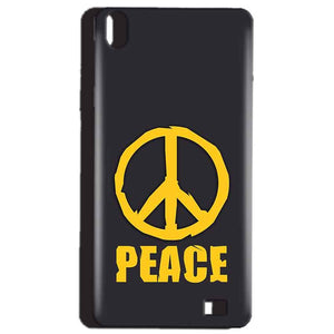 Reliance Lyf Water 4 Mobile Covers Cases Peace Blue Yellow - Lowest Price - Paybydaddy.com