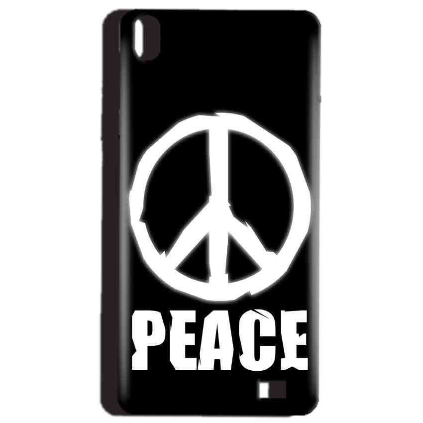 Reliance Lyf Water 4 Mobile Covers Cases Peace Sign In White - Lowest Price - Paybydaddy.com