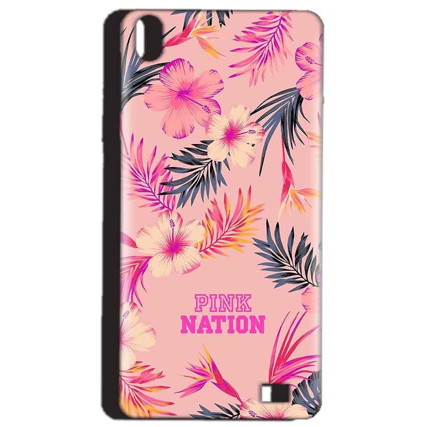 Reliance Lyf Water 4 Mobile Covers Cases Pink nation - Lowest Price - Paybydaddy.com